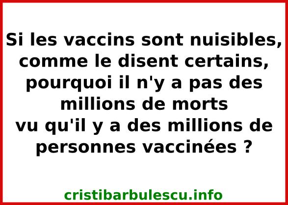 vaccins morts